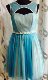 Simone Sky blue dress