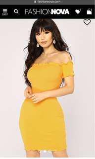 Fashion Nova Dress - Size L