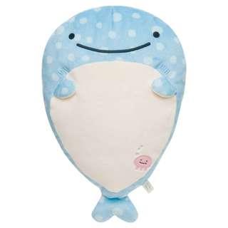 [B2] (2) Japan San-X Jinbesan Super Mochi Mochi Stuffed Cushion Pillow