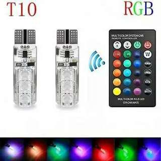 Led T10 complete with remote control