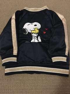Snoopy Kids Bomber Jacket size 1-2