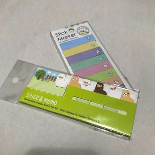 Sticker Post It Label Pads