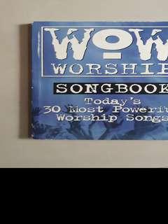WOW worship musical scores