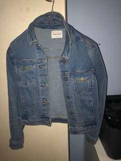 ABRAND Jeans Denim Jacket Size 8