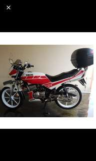 Japan RXZ 55k price includes nea rebate which you will get back. bike price 1100