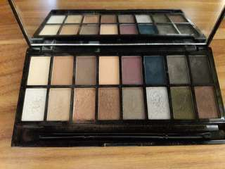 MAKEUP REVOLUTION ICONIC PRO 2 PALETTE EYESHADOW PALETTE