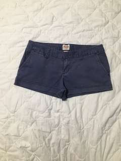 Mossimo Navy Blue Shorts