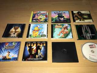 CD's (Soundtracks and Movies)