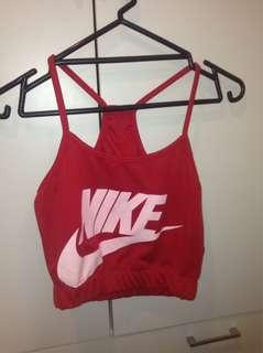 *Fake* Nike crop
