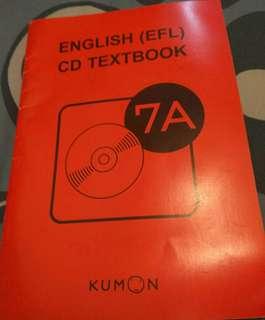 Kumon English 7A連cd