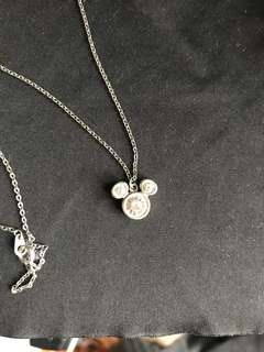 Tokyo Disneyland Mickey necklace
