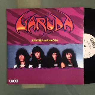 Lp Garuda (Bahtera Mahkota) - piring hitam/vinyl