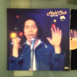 Lp Halil Chik (Contact Mu) - piring hitam/vinyl