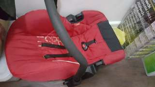 Carrier and Car Seat