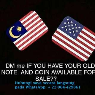 Buy old coins & banknotes