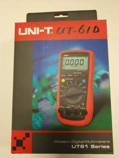 UNI-T DIGITAL Multimeters UT61