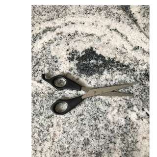 🚚 Stainless Steel Panasonic Black scissors