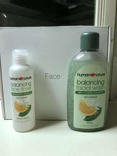 Human Nature Balancing Facial Wash & Toner