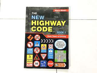 BTT Textbook: the new Highway Code Book 1