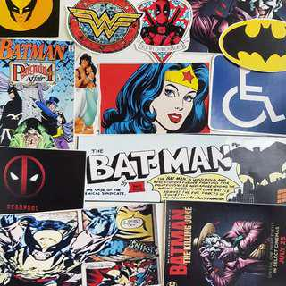 🚚 DC (Deadpool, Batman etc.) Stickers