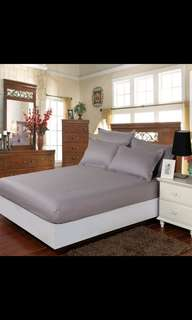 Cotton bed sheets  (100×200)