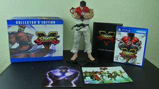 PS4 Street Fighter 5 Collector's Edition