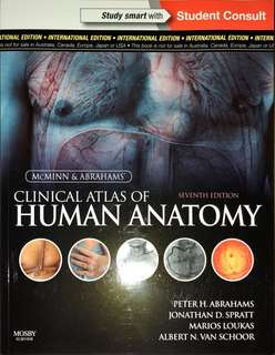 McMinn and Abrahams' Clinical Atlas of Human Anatomy 7th Edition