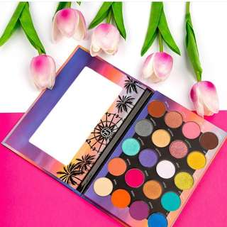 bhcosmetics weekend festival eyeshadow palette