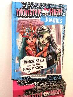 Monster High: Frankie Stein & The New Ghoul at School