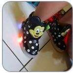 Sepatu kids MICKEY MOUSE LED preloved