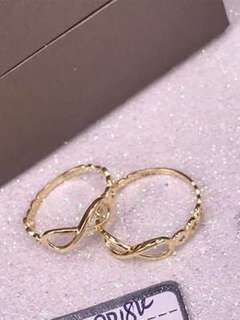 18K Saudi Gold Ring per piece