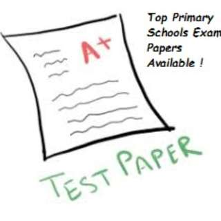 Latest 2017 Top Primary Schools Test Papers for Sale !