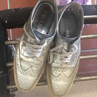 Genuine Prada shoes (size 38) (espadrilles)