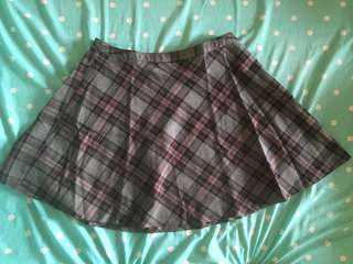 Forever 21 plaid mini skirt