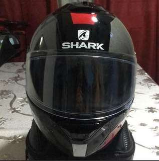 Helmet Shark Spartan Apics Size M