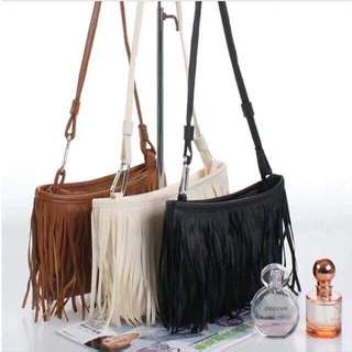 TASSEL FASHION SLING BAG