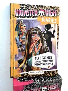 Monster High: Cleo De Nile & The Creeperific Mummy Makeover