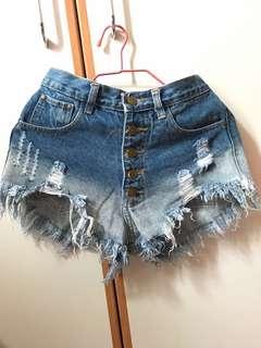 Thailand high waist hot pants