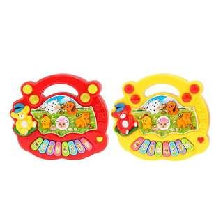2x Baby Kids Musical Educational Piano Animal Developmental Music Toy Hot Selling