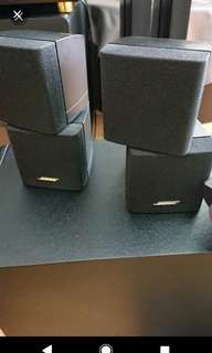 Left & Right Bose cubes Only ( Both @ $288 )