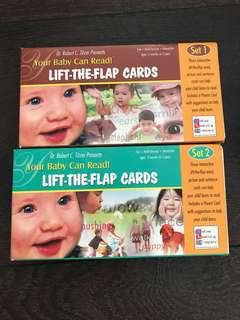 Your baby can read (Lift the flap cards)
