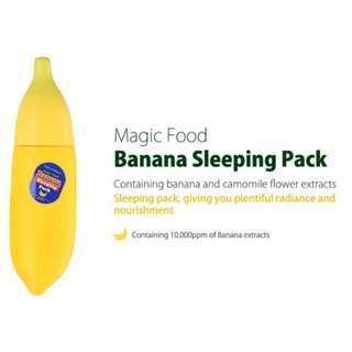 TONY MOLY MAGIC FOOD BANANA SLEEPING PACK #JULY100