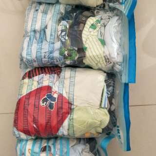 Assorted baby boy clothes 3m to 12m
