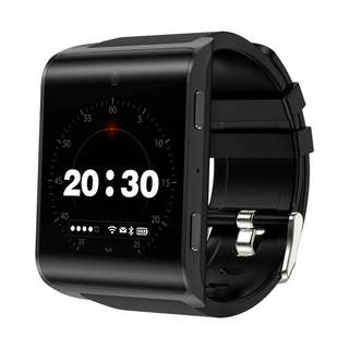 DM2018 Android Smart Watch - 4G, 1.54 InchTouch Screen, Pedometer, Heartrate Sensor, Android 6.0, 2MP Camera (Black) Or (Silver) (CVAJE-W108)