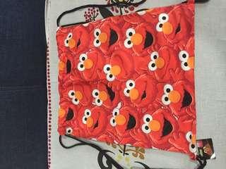 Elmo Drawstring Bag