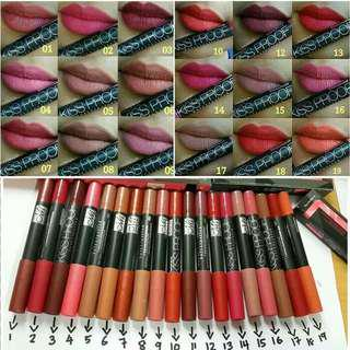 Menow Kissproof Lipstick Kiss Proof