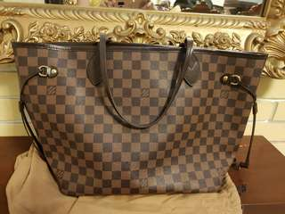 Authentic LV Neverfull Ebene