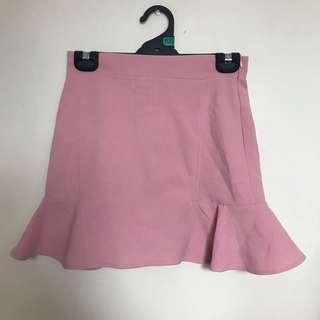 Pink Mermaid mini skirt