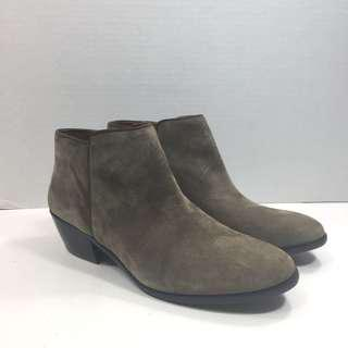 New Sam Edelman Petty Suede Ankle Bootie Size 6.5