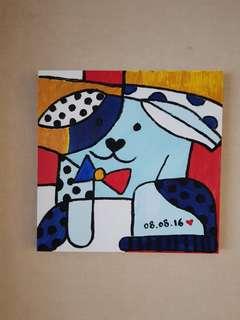 Dog abstract